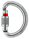 Karabína Petzl Omni screw-lock